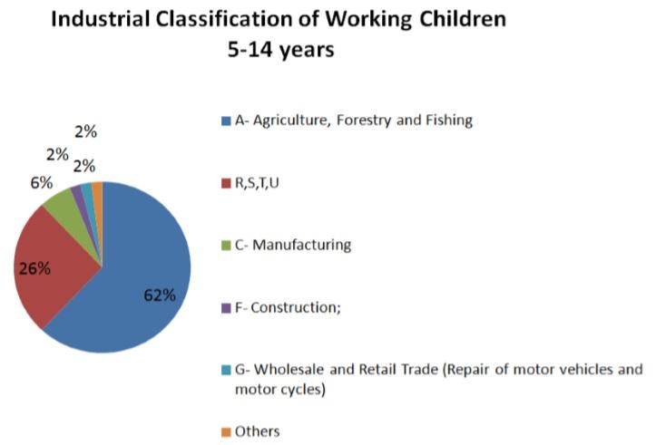 Classification of working children