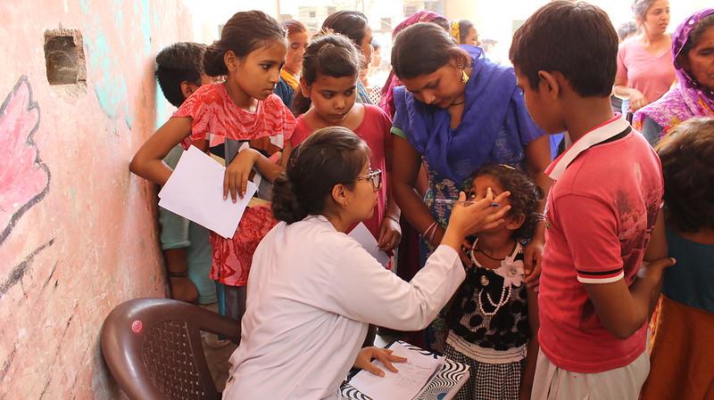 Underprivileged children's health